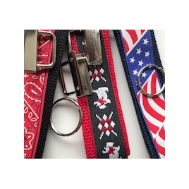 Kit Three key fobs to do with ribbons