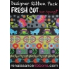 Pack ribbons Sue Spargo Fresh Cut