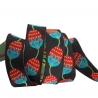 Ribbon Sue Spargo Berries on black 16mm