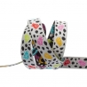 Ribbon Tula Pink Spots on spots Mango 38mm