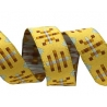 Ribbon Anna Maria Horner Gingham on Yellow 16mm