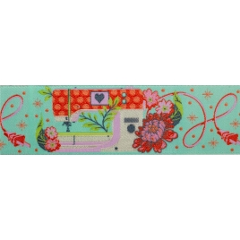 Ribbon Tula Pink Pedal to the Metal-blue- 38mm