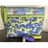Sewing kit quilt padded pouch in Green PRE ORDER