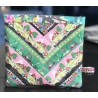 Kit Patchwork Chevron Ribbon Pouch Golf