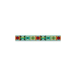 Ribbon Tula Pink-Measure twice morning green -16mm