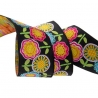 Ribbon Mary Engelbreit Hippie Flowers-38mm