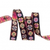 Ribbon Mary Engelbreit Flowers checks dots-13mm